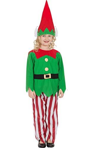 Cute Dress Fancy Elf Kostüm - Weihnachtselfe Kostüm für Kinder