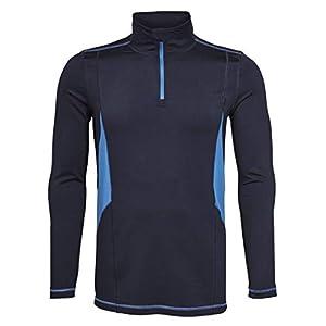 generisch Crivit Herren Skishirt Skifunktionsshirt Midlayer Skirolli Thermoshirt Wintershirt Skiunterhemd Skihemd