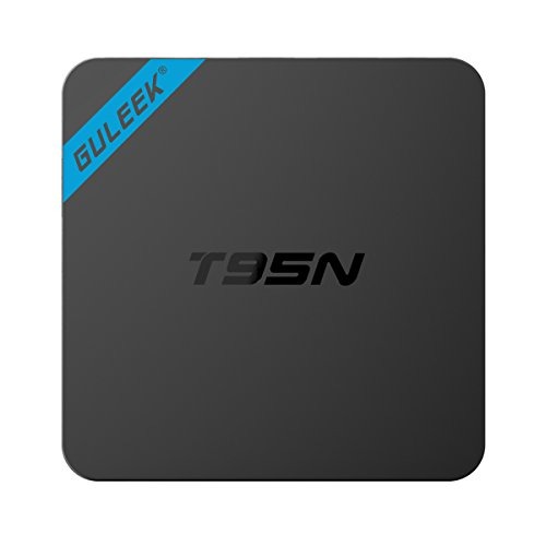 Guleek T95N Pro Android 6.0 TV Box con Amlogic S905x Quad Core WIFI 4K HD Reproductor Android 6.0 Mini PC para video y juegos