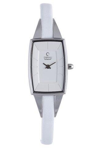 Obaku Harmony Damen-Armbanduhr V120L CIRW Titan-Glas