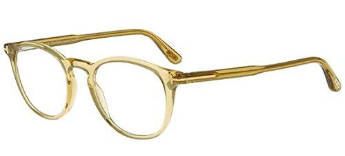 Preisvergleich Produktbild Tom Ford - FT 5401, Rechteckig, allgemein, Herrenbrillen, TRANSPARENT LIGHT BROWN(045 H), 49/20/145
