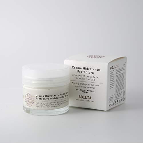 Feuchtigkeitscreme normale Gesichtsschutz Bio trockene Haut und ABILIA