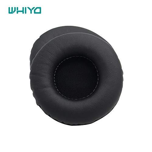 Whiyo 1 Paire de Coussinets d'oreille Coussin Coussinets Earmuff de Remplacement pour Jabra Evolve 20 30 40 65 75 Casque Audio