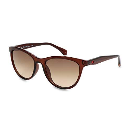 Calvin klein 205w39nyc ckj811s 203 52 occhiali da sole, marrone (crystal brown)