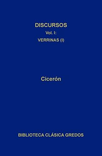 Discursos I (Biblioteca Clásica Gredos nº 139) por M. Tulio Cicerón