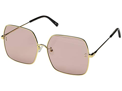 Stella McCartney Sonnenbrillen (SC-0158-S 002) gold - pflaumenfarben