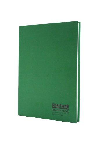 Chartwell Laborbuch, A4, broschiert  Hartschale grün