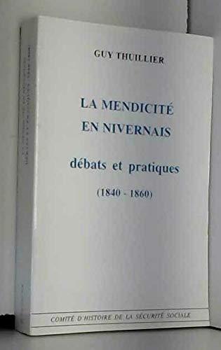 La mendicité en Nivernais : débats et pratiques, 1840-1860