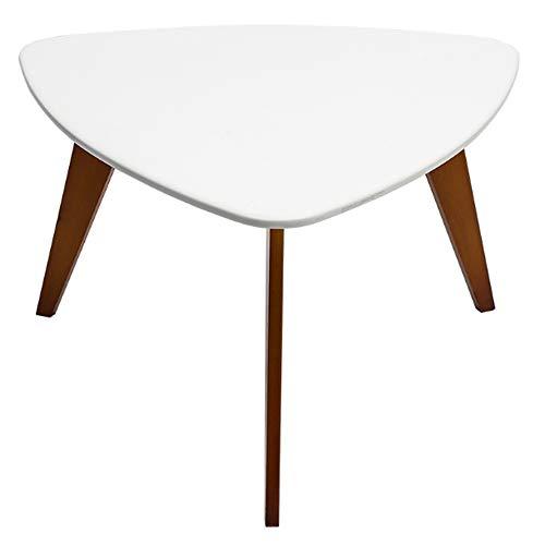 Minimalist Modern Triangle Coffee Desk, Möbel Dekor Beistelltisch für Wohnzimmer Balkon, leicht zu tragen ()