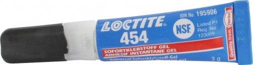 Sofortklebstoff / Edelstahlkleber (gelförmig), 3g Tube
