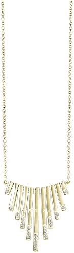 Guess Women's Stainless Steel Miss Divine Diamond Pendant Necklace - UBN8