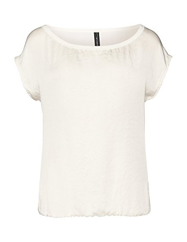 Marc Cain Essentials Damen Top +E6196W87 Elfenbein (off-white 110)