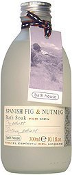 Bath House - Bain Moussant Figue Espagnole & Muscade 300ml Hommes