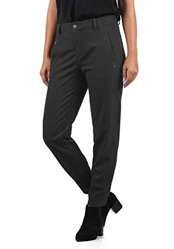 DESIRES Ray Damen Stoffhose Anzugshose, Größe:M, Farbe:Dark Grey (2890)