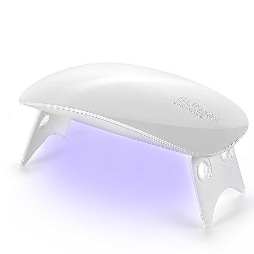 Yizhet 6W LED Lampara Uñas UV Secador Uñas Unas