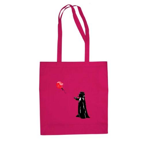Vader Death Star Balloon - Stofftasche / Beutel, Farbe: pink