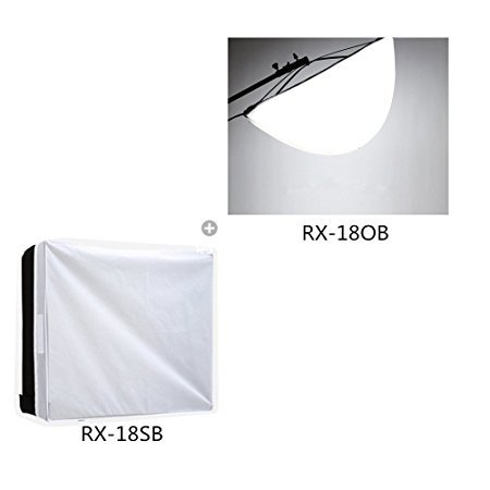 Falconeyes-Spread-Soft-Box-Diffuser-RX-18OBStandard-Soft-Box-Diffuser-RX-18SB-for-RX-18T-RX-18TD-Video-Light