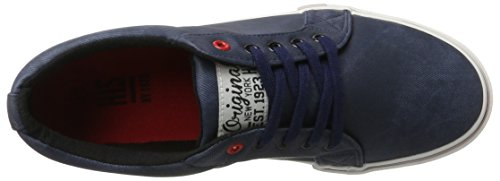 HIS Ct19-023, Sneakers basses homme Blau (navy line washed textil)