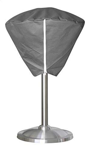 OutTrade Schutzhaube Stehende Heizung halogen, Grau, 60 cm