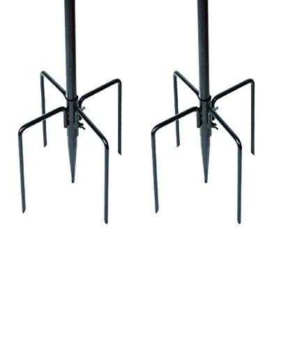 Gardman-Bundle-2-pezzi-mangiatoia-stabilizzatori-nero-2-pezzi