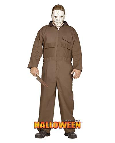 Horror-Shop Lizenziertes Michael Myers Kostüm aus Rob Zombie's Halloween ML (Rob Zombies Halloween Michael Myers Kostüm)