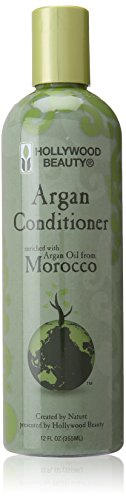Hollywood Beauty - Hollywood Beauty Argan Conditioner Enriched Wtih Argan Oil From Morocco - Volume : 355 ml.