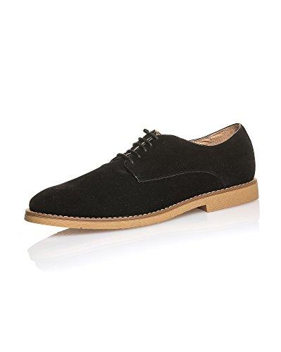 BLZ Jeans Chaussure Basse Homme Noire à Lacets