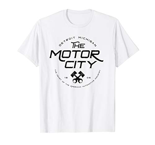 Detroit Motor City Michigan Pride Home Design T-Shirt -