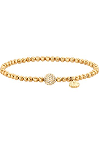 JETTE Magic Passion Damen-Armband Bubbles Metall 84 Kristall One Size, gold