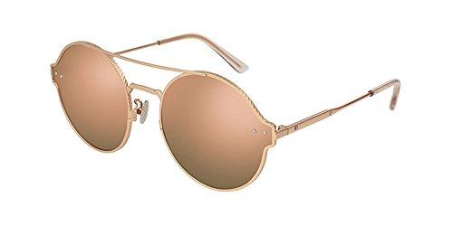 Sonnenbrillen Bottega Veneta BV0141S ROSE GOLD/ROSE GOLD Unisex