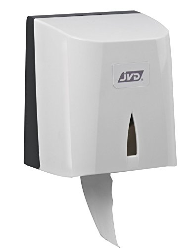 JVD - Distributeur Papier hygiénique - Adapté Formats Rouleau ou Paquets en ABS