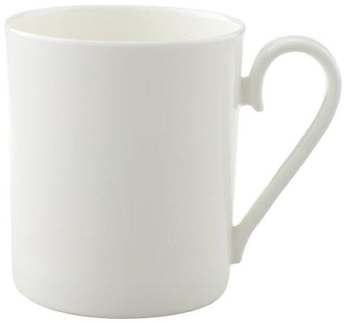 Villeroy & Boch Royal Kaffeebecher mit Henkel / Hochwertige Bone Porzellantasse in Weiß / Ergänzung zu Geschirrsets der Royal Serie / 1 x Tasse (0,3l)