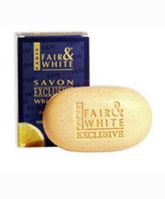 FAIR & WHITE SAVON EXCLUSIVE WHITENIZER EXFOLIATING SOAP WITH VITAMIN C
