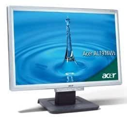 "Acer AL1916WS 19"" Widescreen LCD Monitor"