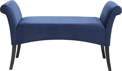 Versa 19501331 Sgabello fondo letto Rhune,45x40x80,Cotone Legno Panca//panca