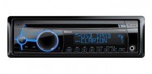Clarion CZ702E CD/MP3-Autoradio mit variabler Beleuchtung mit integriertem Bluetooth und iPod Control Clarion Marine Subwoofer