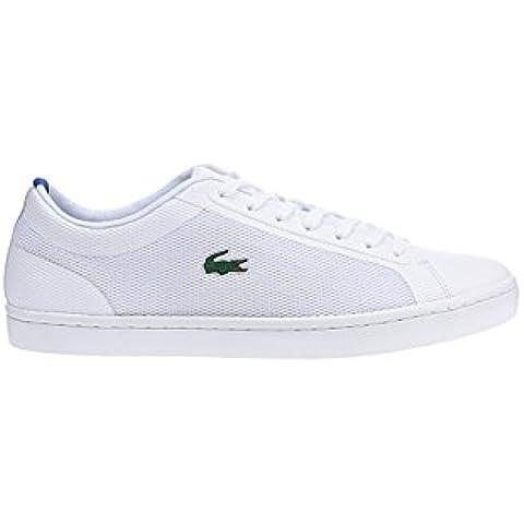 Lacoste Straight Set Sport Hombre Zapatillas Blanco