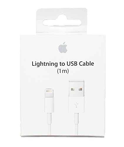Original Apple MD818ZM/A 1M Lightning auf USB Ladekabel Kabel Datenkabel für iPhone X 8 8 Plus 7 7 Plus 6 Plus 6s 5 5c 5s SE iPad Pro iPad Air Mini iPod Macbook Pro Air
