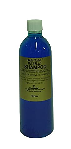Gold Label Stock Shampooing Herbal Cheval Equine shampooings & les