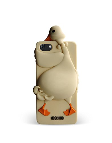 Love Moschino Etui iPhone 5/5S-Ivoire