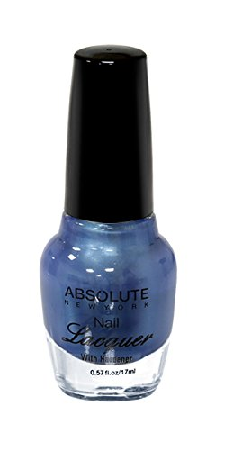 NEW YORK Vernis à ongles absolue – Blue Metal, 1 pièce