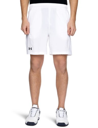 Under Armour Herren Shorts Classic 7 Zoll Woven, weiß 100, XL XL - Xl Lacrosse Shorts