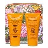 L'Erbolario - Pochette Arancio con Crema Acceleratrice d'Abbronzatura SPF 15 e Doposole Soleombra 2 x 75 ml