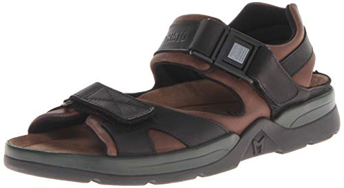 1c3abc261b Mephisto Mens Shark Fit Brown Leather Sandals 43 EU