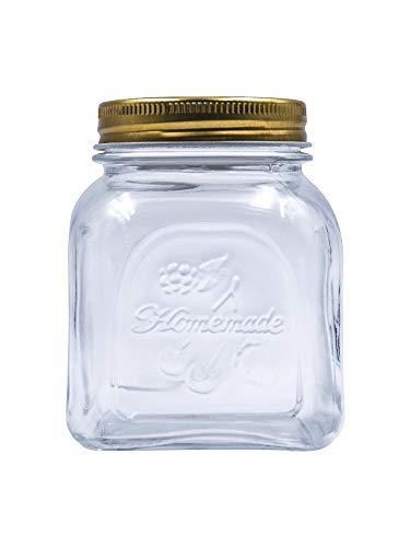 Wshuhouui Versiegelter Behälter Eingelegter Kimchi-Behälter Glasvorratsbehälter Trockenobst Blumen-Tee-Vorratsbehälter