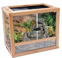 Penn Plax Reptile Terrarium Bois 41 cm