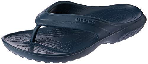 crocs Unisex-Kinder Classic Flip Kids Pantoffeln, Blau (Navy), 30/31 EU (C13 UK)
