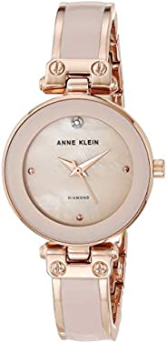 Anne Klein Women's Genuine Diamond Dial Bangle W