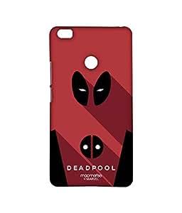 Licensed Marvel Comics Deadpool Premium Printed Back cover Case for Xiaomi Mi Max