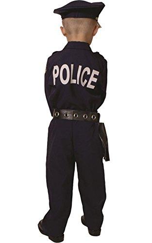 Imagen de dress up america  disfraz premiado de policía deluxe, niños 3 4 años 201 t  alternativa